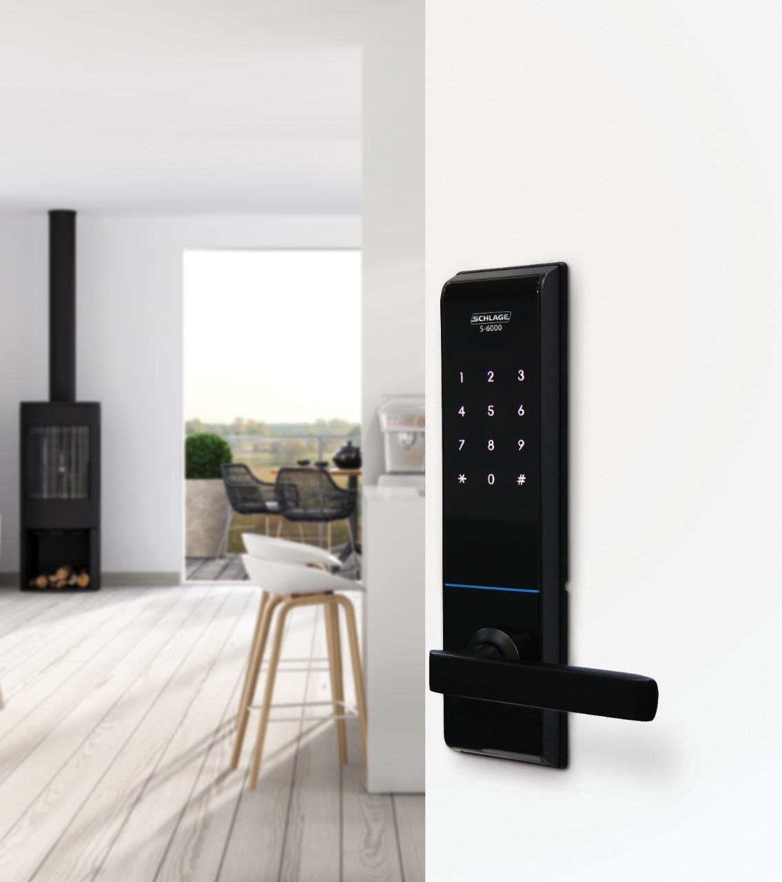 Schlage S 6000 Lock Here Is An Electronic Code Which Can Be Used As A Door